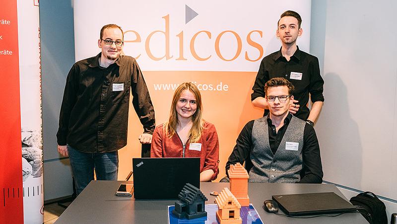 Unsere Azubis stellen Digitalprojekt beim DigiScout vor