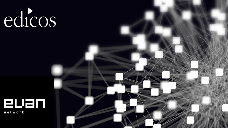 edicos bietet als evan.network-Partner Blockchain-basierte Smart Contracts