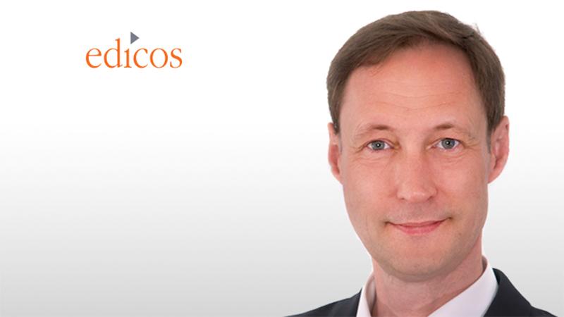 edicos gewinnt mit Burkhard Theß erfahrenen IT-Manager als Geschäftsführer
