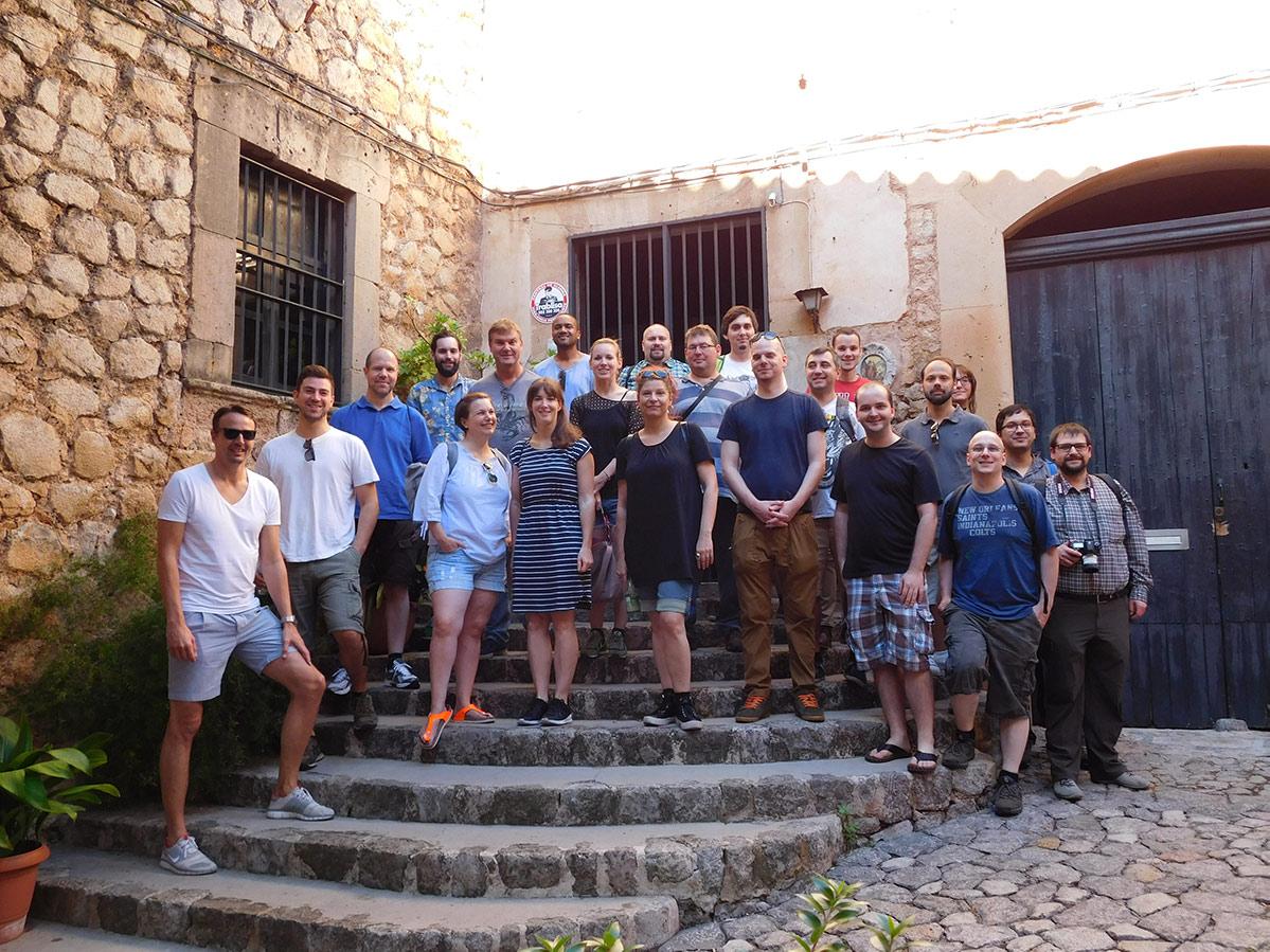 Team edicos - Mallorca Incentive